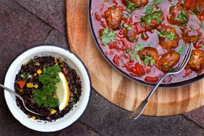 MOROCCAN LAMB MEATBALLS (COMING SOON)