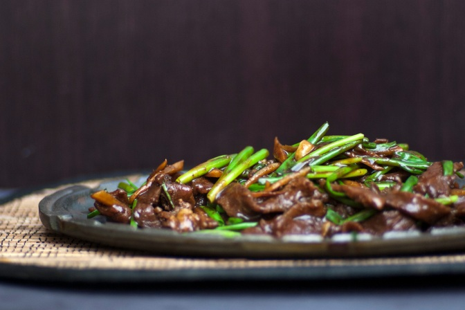 GINGER BEEF STIR-FRY (COMING SOON)