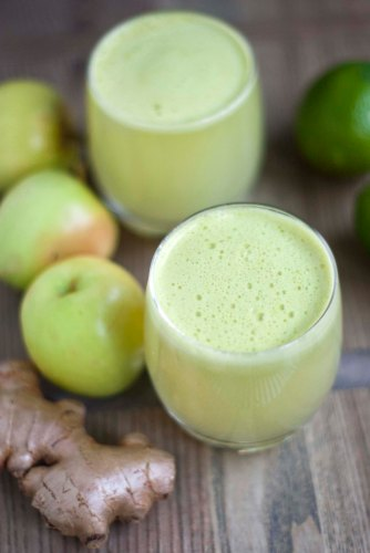 APPLE LIME GINGER JUICE